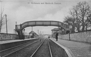 Melbourn___Meldreth_Station 1905