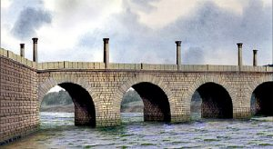 corbridge-roman-bridge-reconstruction